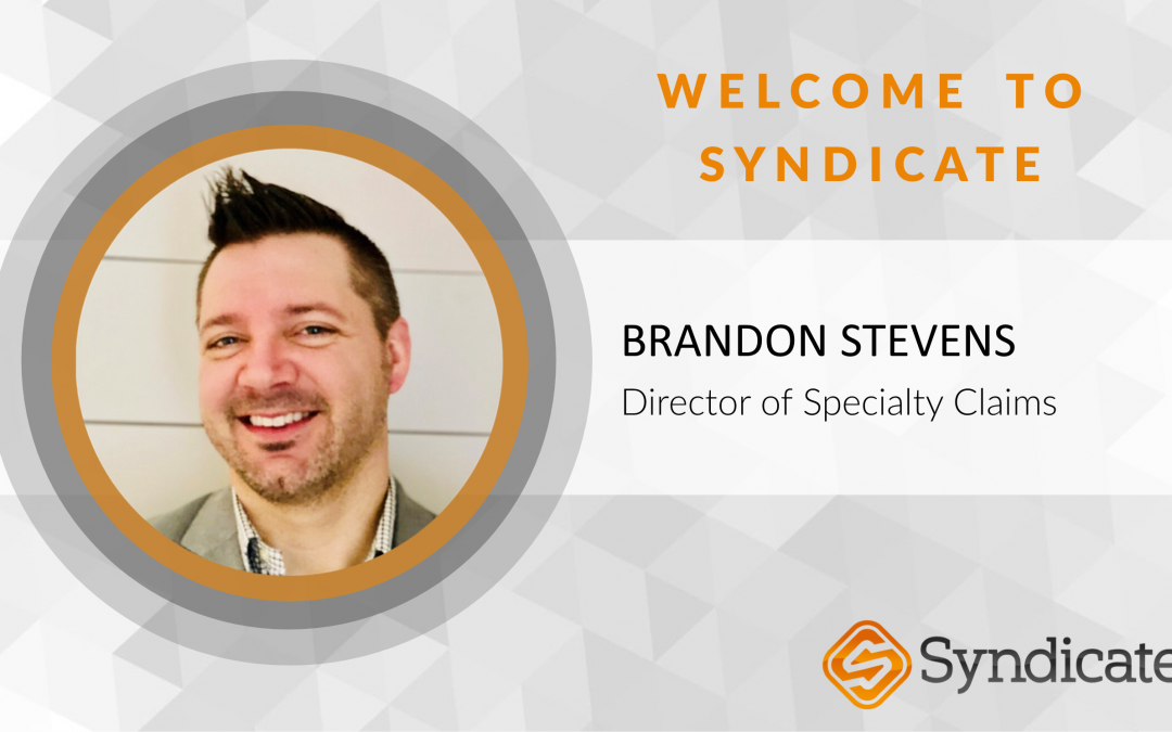 Syndicate Announces New Director of Specialty Claims