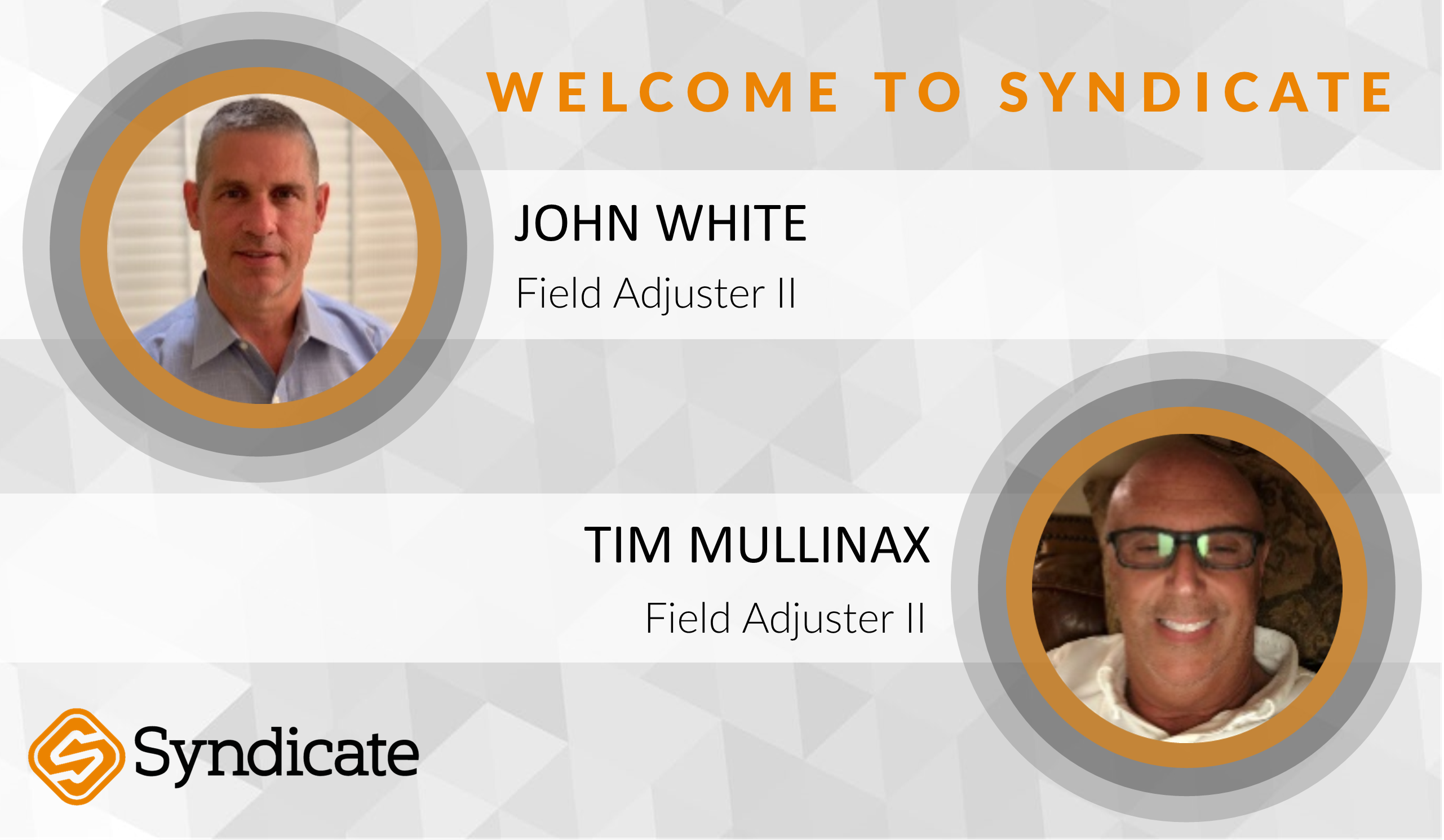Syndicate Onboards New Staff - Syndicate Claims